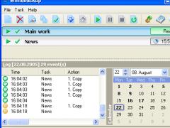 White Backup 1.0.18 Screenshot