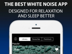 White Noise for Deep Sleep: Rain, Ocean Sound 1.0 Screenshot