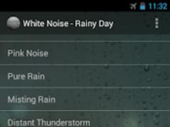White Noise - Rainy Day  Screenshot
