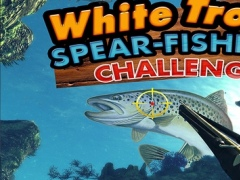 White Trout Spear-Fishing Challenge : Play Deap Sea winter Fish hunting Free 1.0 Screenshot