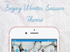 White Winter Theme & Launcher 1.0 Screenshot