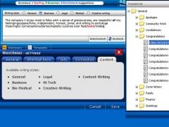 WhiteSmoke Writing Business Letter 2013.22 Screenshot