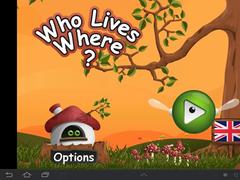 Who lives where? 1.5.2 Screenshot