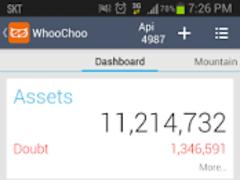 Whoochoo : Mobile AccountBook 1.2.3 Screenshot