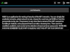 WIBR - WIfi BRuteforce hack 1.0.13 Screenshot