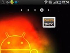 Widget Battery 1.3 Screenshot