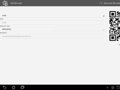 WiFi Barcode 1.4 Screenshot