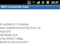 Wifi Connection details 1.0 Screenshot