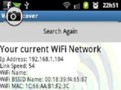 WiFi Discover Information 3.0 Screenshot