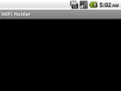 WiFi Holder (Free) 1.3 Screenshot