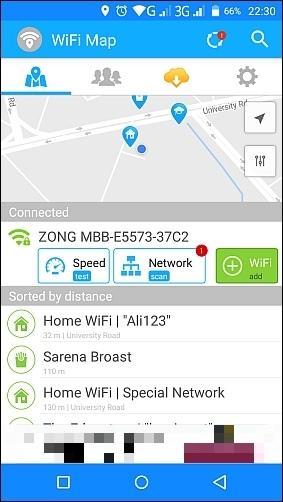 WiFi Map — Free Passwords & Hotspots Free Download