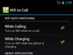 Wifi on Call 2.1 Screenshot