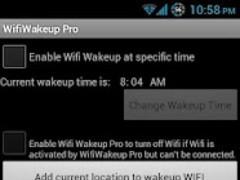 Wifi Wakeup 3.6 Screenshot