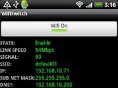 WifiSwitch 1.2 Screenshot