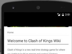 Wiki - Clash of Kings 1.0 Screenshot