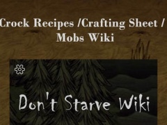 Wiki & Recipes for Don't Starve 1.1 Screenshot