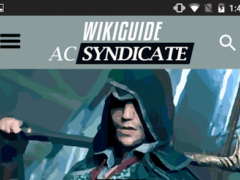 WikiGuide for AC Syndicate 1.0.7 Screenshot