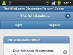 WikiLeaks Forum 1.1 Screenshot