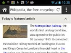 Wikit (Wikipedia Browser) 1.2 Screenshot