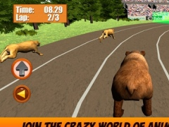 Wild Animal Racing Challenge 3D 1.0 Screenshot