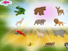 Wild Animals Colors Sparkles Blast Game 1.0 Screenshot