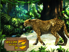 Wild Cheetah Attack Simulator 1.1 Screenshot