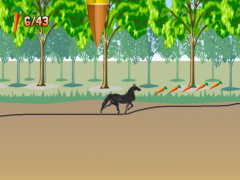Wild Horse Scribble Race 1.0 Screenshot