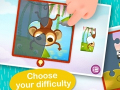 Wildlife Jigsaw Puzzles 123 Free - Fun Learning Puzzle Game for Kids 2.4 Screenshot
