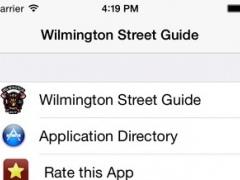 Wilmington Street Guide 1.1 Screenshot