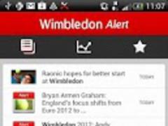 Wimbledon 2013 Alert 1 Screenshot
