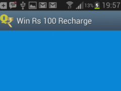 Win free Rs 100 Recharge daily 7.21 Screenshot