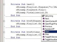 WinAmp Control Class 1.2.0 Screenshot