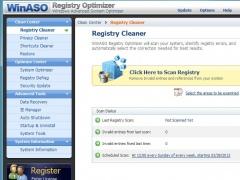 WinASO Registry Optimizer 4.8.6 Screenshot