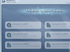 WinAVI Video Converter 11.6 Screenshot