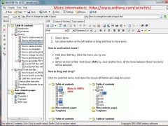 WinCHM - help authoring software 5.139 Screenshot