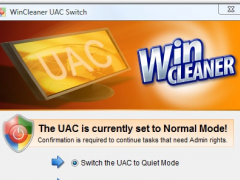 WinCleaner UAC Switch 1.0 Screenshot