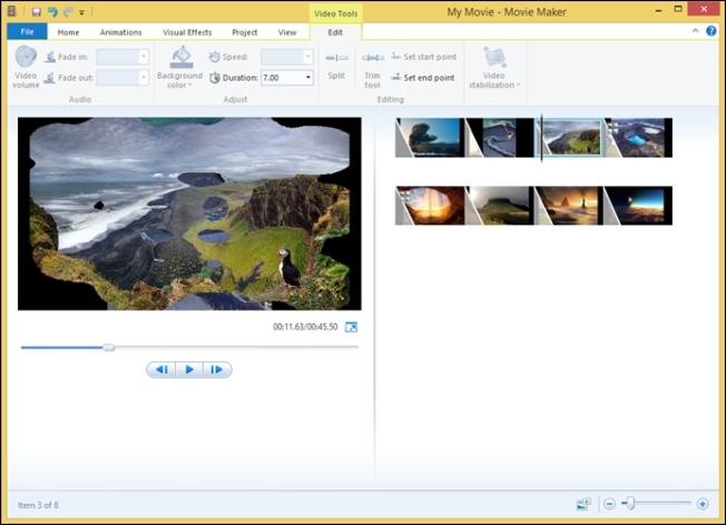 Windows Movie Maker - Movie Creation