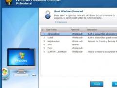 Windows Password Unlocker Professional 7.0.0.0 Screenshot