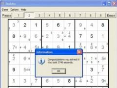Windows Sudoku Puzzle Game 3.1 Screenshot