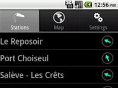 WindSpots Android 0.99h Screenshot