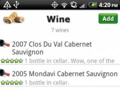 Wine + List, Ratings & Cellar  Screenshot