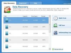 WinMend Data Recovery 1.4.7 Screenshot