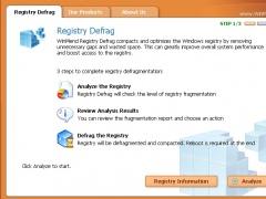 WinMend Registry Defrag 1.4.7 Screenshot