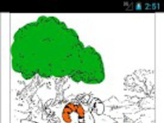 Winnie the Pooh Coloring 1.0 Screenshot