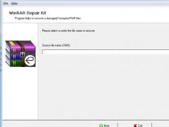 WinRAR Repair Kit 1.4.0 Screenshot