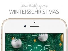 Winter & Christmas ( New Wallpaper & Backgrounds Themes ) 0.9.7 Screenshot