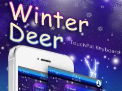 Winter Deer Keyboard Theme 6.2.3 Screenshot