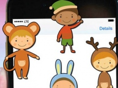 Winter Funtime Stickers - Kids 1.0 Screenshot
