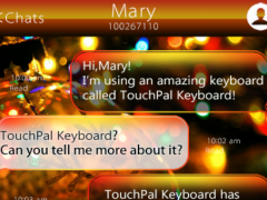 Winter Holiday Keyboard Theme 6.10.28 Screenshot