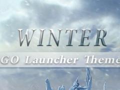 Winter II GO Launcher Theme 1.0 Screenshot